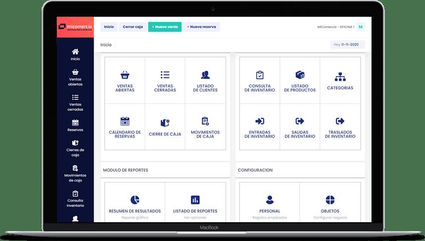 MiComercio - Sistema POS para pequeños negocios